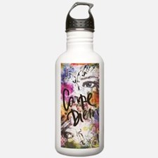 Unique Mixed media Water Bottle
