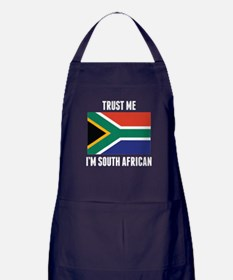 Trust Me I'm South African Apron (dark)