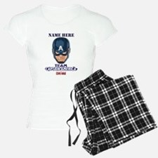Team Captain America Person Pajamas