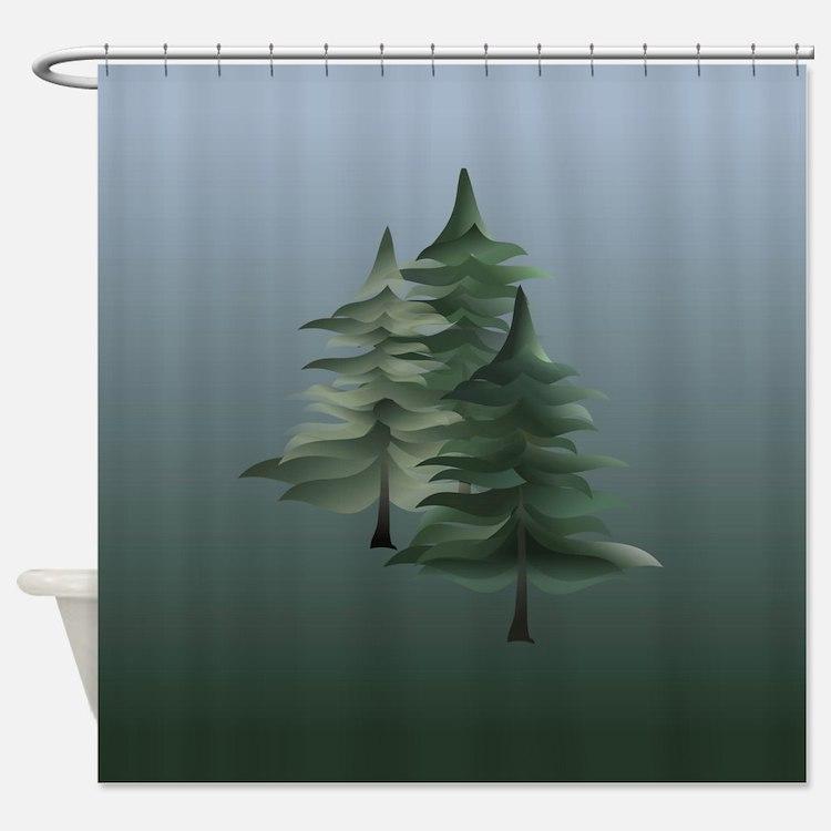 Spruce Grove Shower Curtain