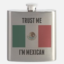 Trust Me I'm Mexican Flask