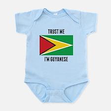Trust Me I'm Guyanese Body Suit