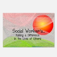 Social Worker's Month Postcards (Package of 8)