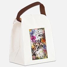 Carpe Diem Canvas Lunch Bag