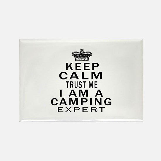 Camping Expert Designs Rectangle Magnet (100 pack)