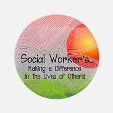 Social Worker's Month Button