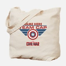Team Cap Shield Personalized Tote Bag
