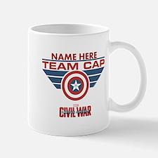 Team Cap Shield Personalized Mug
