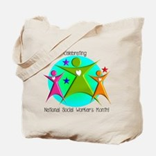 Social Worker's Month Tote Bag