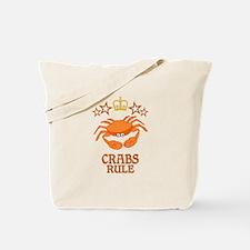 Crabs Rule Tote Bag