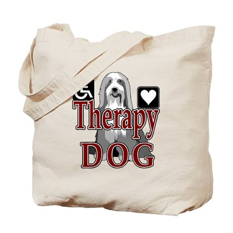 Therapy Dogs Tote Bag