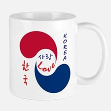 Korea Love Mugs