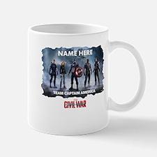 Team Captain America Group Personalized Mug