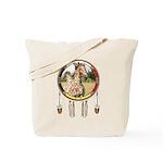 Appaloosa Horse Shield Tote Bag