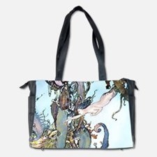 Dulac Mermaid Treasure Diaper Bag