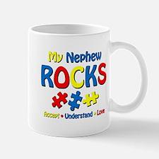 Autistic Nephew Rocks Mug