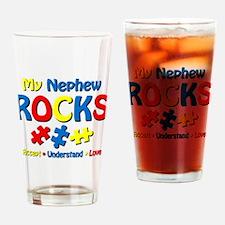 Autistic Nephew Rocks Drinking Glass