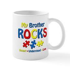 Autistic Brother Rocks Mug