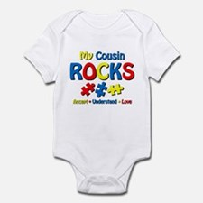 Autistic Cousin Rocks Infant Bodysuit