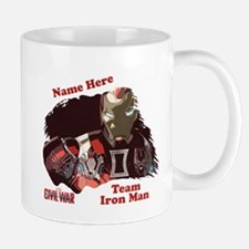 Team Iron Man Personalized Mug