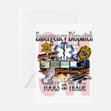 Cute 911 dispatch Greeting Cards (Pk of 20)