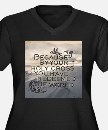 Your Holy Cross Plus Size T-Shirt