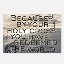 Your Holy Cross Postcards (Package of 8)