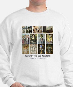 Cats of the Old Masters Sweatshirt