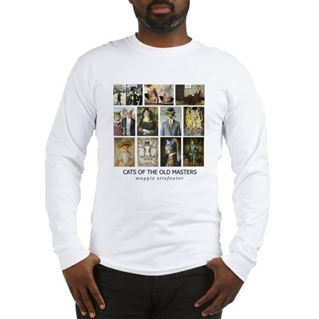 Cats of the Old Masters Long Sleeve T-Shirt