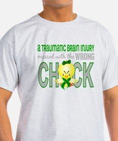 Unique Traumatic brain injury ribbon T-Shirt