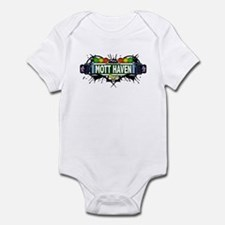 Mott Haven (White) Infant Bodysuit