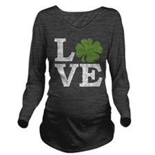 Unique Pregnant st patrick%27s day Long Sleeve Maternity T-Shirt