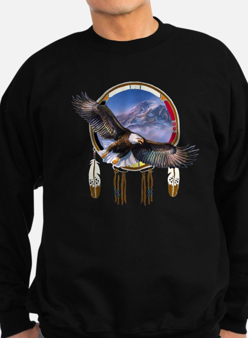 Flying Eagle Shield Sweatshirt (dark)