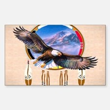 Flying Eagle Shield Decal