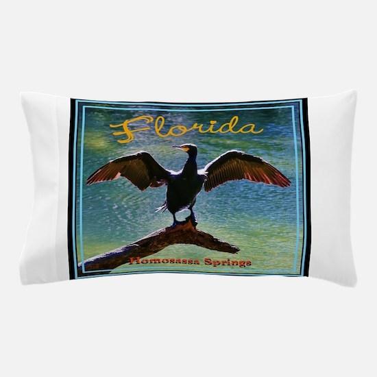 Homosassa Springs, Florida Pillow Case