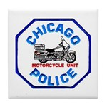 Chicago PD Motor Unit Tile Coaster