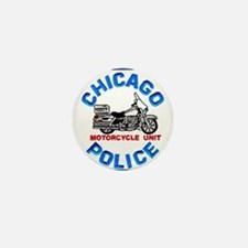Chicago PD Motor Unit Mini Button