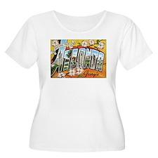 Atlanta Georgia Postcard T-Shirt