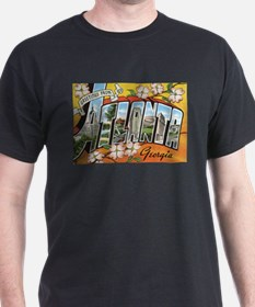 Atlanta Georgia Postcard T-Shirt