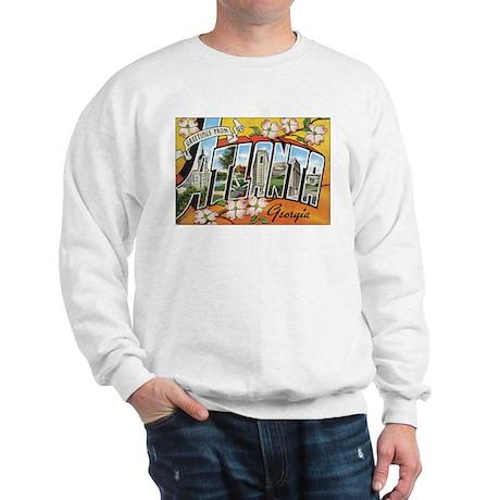 Atlanta Georgia Postcard Sweatshirt