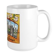 Atlanta Georgia Postcard Mug