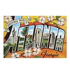 Atlanta Georgia Postcard Postcards (Package of 8)