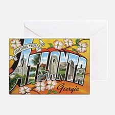 Atlanta Georgia Postcard Greeting Card