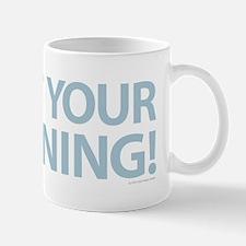 Quit Whining Blue Mugs