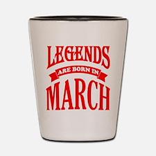 Legends Shot Glass