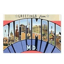 Baltimore Maryland Postcard Postcards (Package of