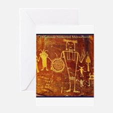 Ancient Drawings Greeting Cards