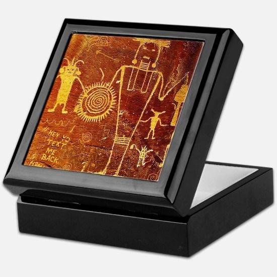 Ancient Drawings Keepsake Box