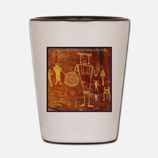 Ancient Drawings Shot Glass