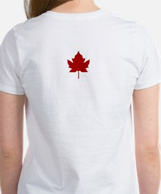 Canada Anthem Souvenir Women's T-Shirt